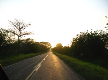 Sur la route de Carthagène