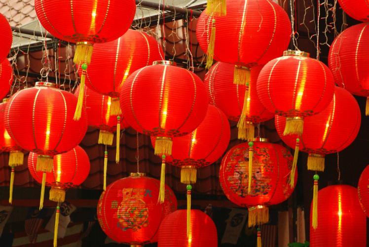 Préparatifs pour le nouvel an chinois.