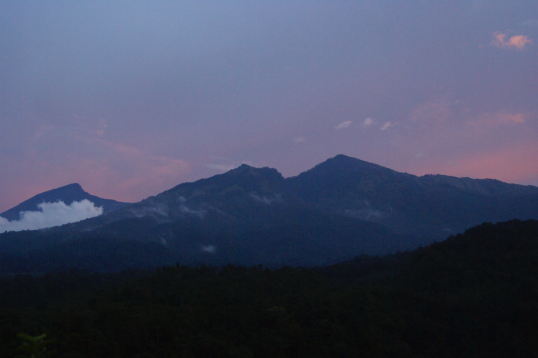 Le mont Rinjani
