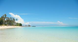 Une île paradisiaque peuplée de contrebandiers et de réfugiés.